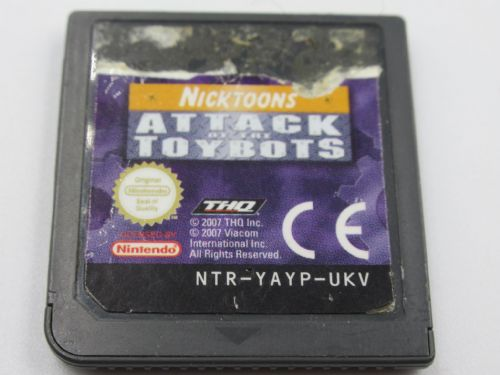 Nicktoons Attack of the Toybots (Nintendo DS)